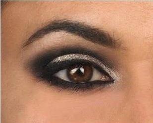 Maquillaje ojos ahumados noche