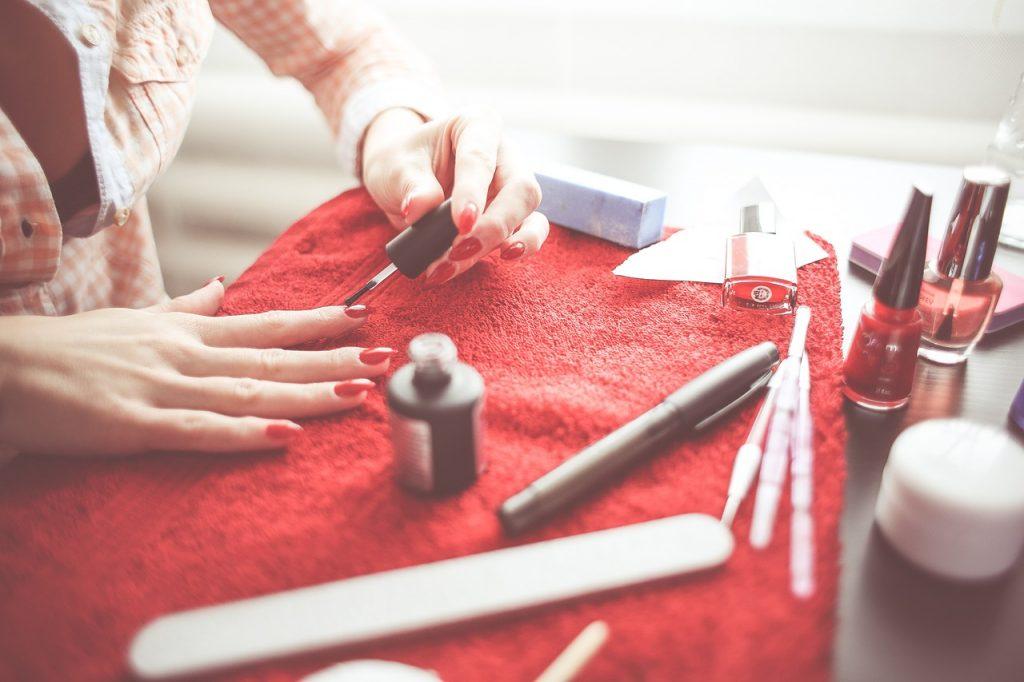 uñas manicure gel