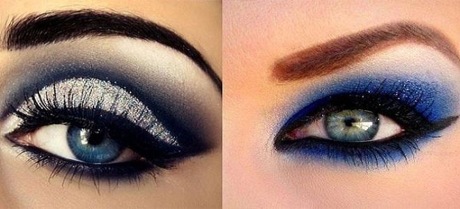 sombras azules ojos azules