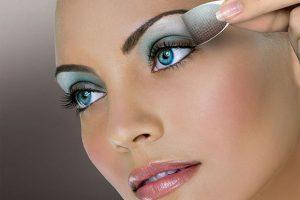 tutorial maquillaje ojos tonos azules