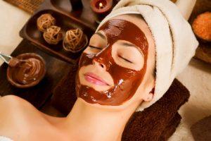 chocolaterapia mujer facial